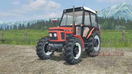 Zetor 7745 the moveable axis для Farming Simulator 2013