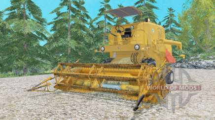 Bizon Super Z056 real sounds для Farming Simulator 2015