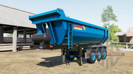Schmitz Cargobull S.KI rich electric blue для Farming Simulator 2017
