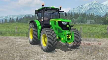 John Deere 6150R interactive control для Farming Simulator 2013