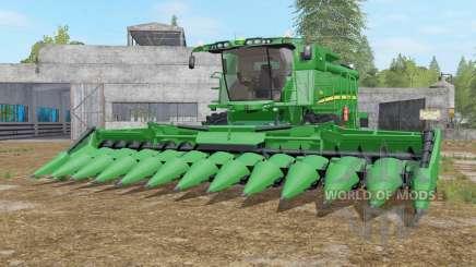 John Deere S690i real textures для Farming Simulator 2017