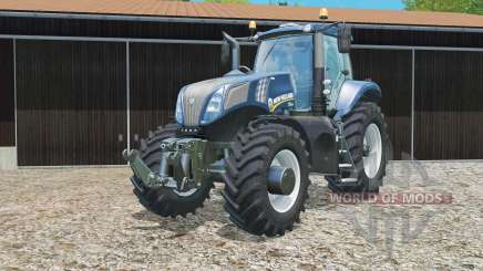 New Holland T8.435 Blue Poweɽ для Farming Simulator 2015