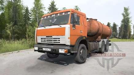 КамАЗ-53215 Ассенизатор КО-505А для MudRunner