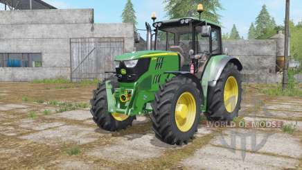 John Deere 6115M interactive contrꝍl для Farming Simulator 2017