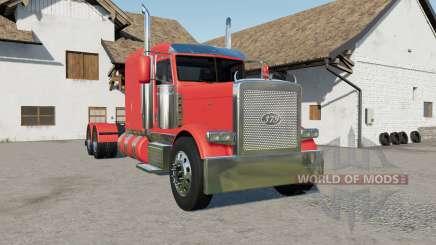 Peterbilt 379 new fuel tanks для Farming Simulator 2017