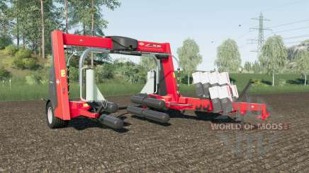 Kuhn SW 4014 increased wrapping speed для Farming Simulator 2017