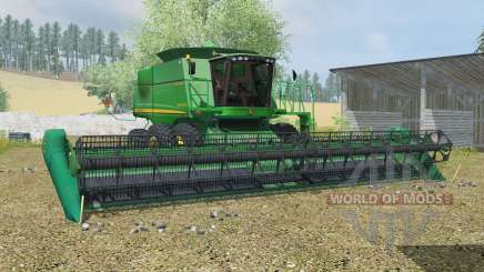 John Deere 9770 & 635D для Farming Simulator 2013