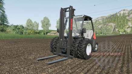 Manitou MC 18-4 dual tires для Farming Simulator 2017