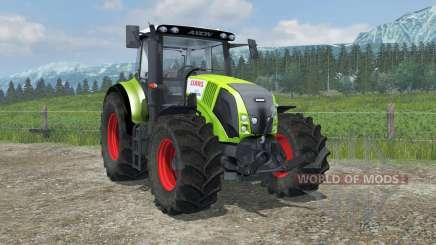 Claas Axion 820 suspension axis wheel steering для Farming Simulator 2013