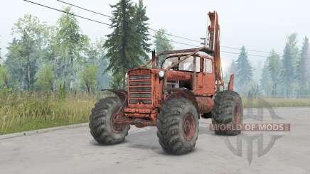 ДТ-75 колёсный для Spin Tires