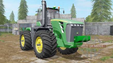 John Deere 9630 wheel configurations для Farming Simulator 2017