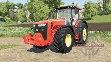 John Deere 8R-series multicolor для Farming Simulator 2017