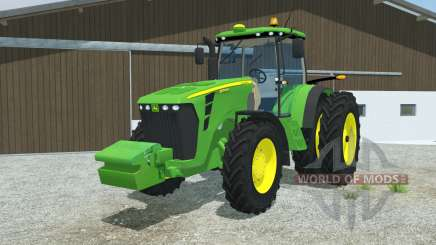 John Deere 8345R double wheels для Farming Simulator 2013