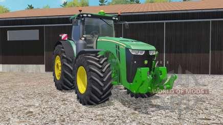 John Deere 8370R animated joystick для Farming Simulator 2015