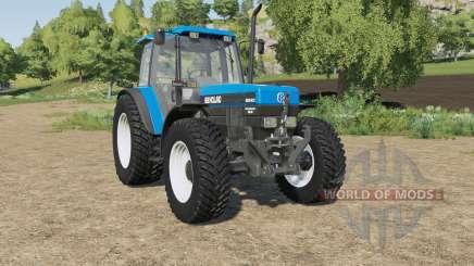 New Holland 8340 wheels selection для Farming Simulator 2017