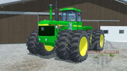 John Deere 8440 manual ignition для Farming Simulator 2013