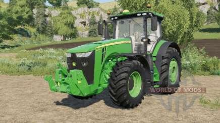 John Deere 8R-series real sound для Farming Simulator 2017