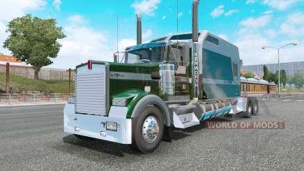 Kenworth W900L county green для Euro Truck Simulator 2