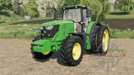 John Deere 6M-series custom для Farming Simulator 2017