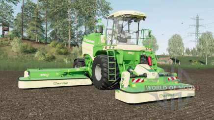 Krone BiG M 450 added Michelin and Mitas tires для Farming Simulator 2017