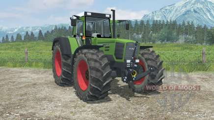 Fendt Favorit 824 Turboshift real exhaust smoke для Farming Simulator 2013