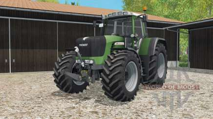 Fendt 930 Vario TMS hippie green для Farming Simulator 2015