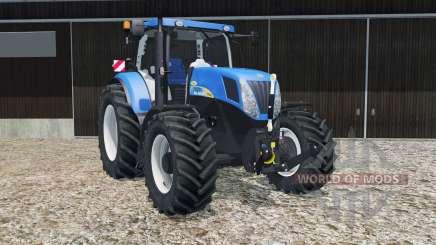 New Holland T7040 2007 для Farming Simulator 2015