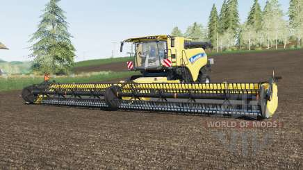 New Holland CR10.90 & SuperFlex Draper 45FT для Farming Simulator 2017