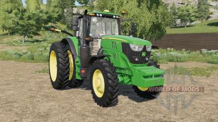John Deere 6M-series row crop для Farming Simulator 2017
