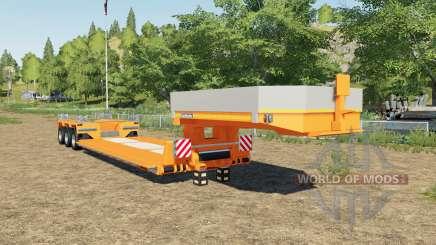 Goldhofer STZ-VP 3 added new colors choices для Farming Simulator 2017