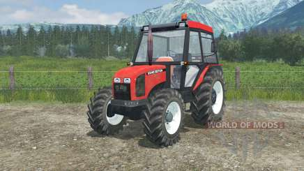 Zetor 5340 manual ignition для Farming Simulator 2013