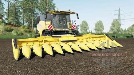 New Holland CR10.90 max speed 63 km-h для Farming Simulator 2017