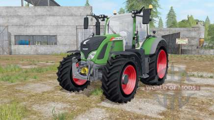 Fendt 700 Vario with Mitas Pneumatic для Farming Simulator 2017