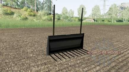 Вилы для тюков Stoll для Farming Simulator 2017