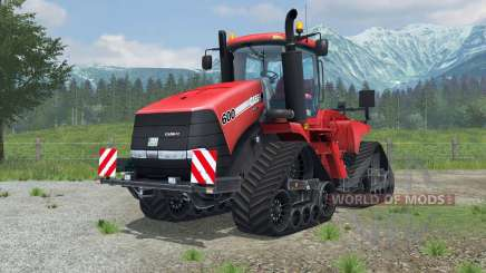 Case IH Steiger 600 Quadtrac license plate для Farming Simulator 2013