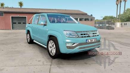 Volkswagen Amarok Double Cab 2016 для American Truck Simulator