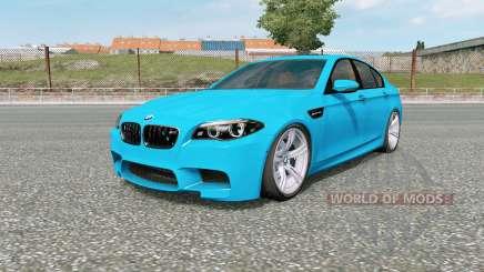 BMW M5 (F10) 2012 v5.0 для Euro Truck Simulator 2
