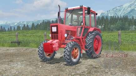 МТЗ-82 Беларус анимированные педали для Farming Simulator 2013
