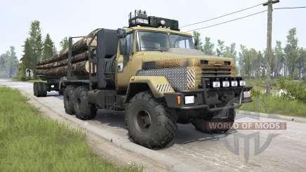 КрАЗ-6322 v3.0 для MudRunner