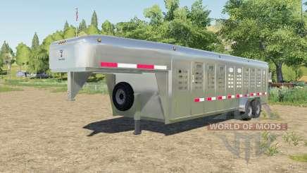 Wilson Ranch Hand added horses для Farming Simulator 2017