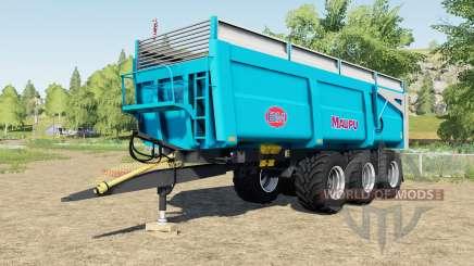 Maupu TDM 7632 EVOlution для Farming Simulator 2017