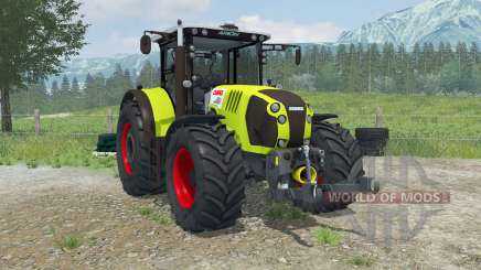 Claas Arion 620 animated interioᶉ для Farming Simulator 2013