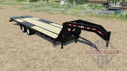 PJ Trailers L3 24ft для Farming Simulator 2017