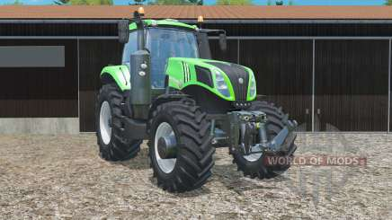 New Holland T8.435 in green для Farming Simulator 2015