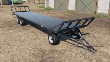 Fliegl DPW 180 black для Farming Simulator 2017