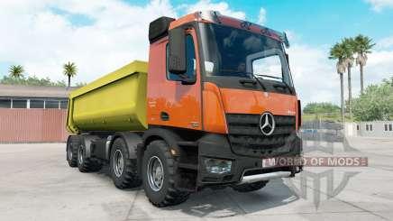 Mercedes-Benz Arocs Tipper для American Truck Simulator