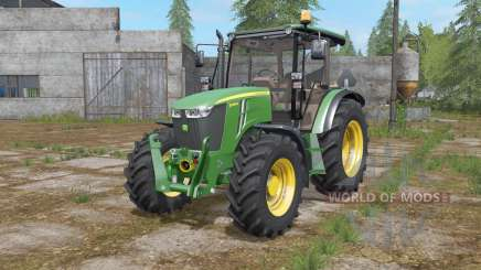 John Deere 5085M configuration wheels для Farming Simulator 2017