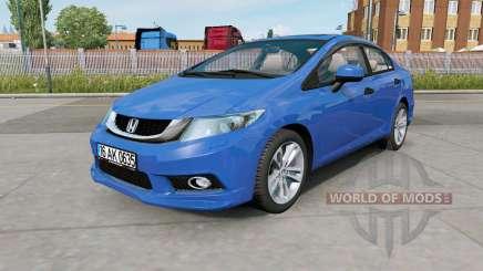 Honda Civic (FB) 2014 для Euro Truck Simulator 2