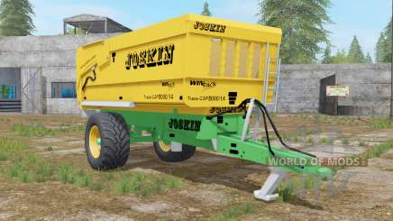 Joskin Trans-Cap 5000-14 golden dream для Farming Simulator 2017