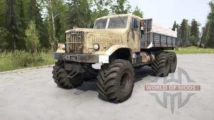 КрАЗ-255 для MudRunner